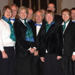 The Crown Singers after their Advent concert, December 2010.