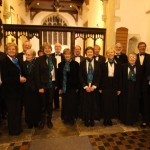 The Crown Singers at their December concert, 2012.