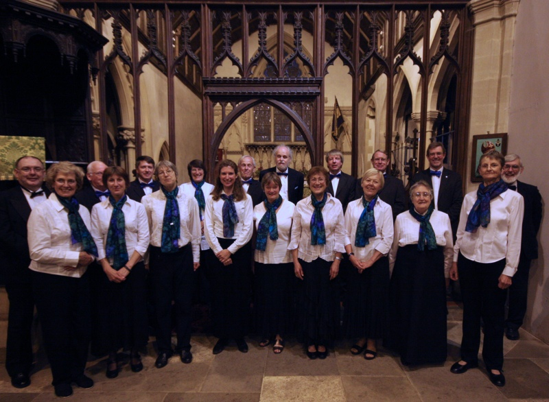 The Crown Singers at their summer concert, July 2012.