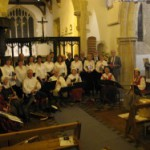 The Crown Singers with early music consort Downwind, 2008.